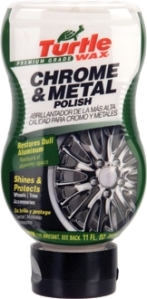 turtle wax chrome and metal polish