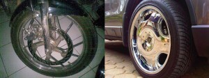 velg chrome